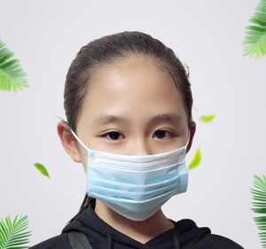 Children Kids Blue CE EN14683 Disposable Mask